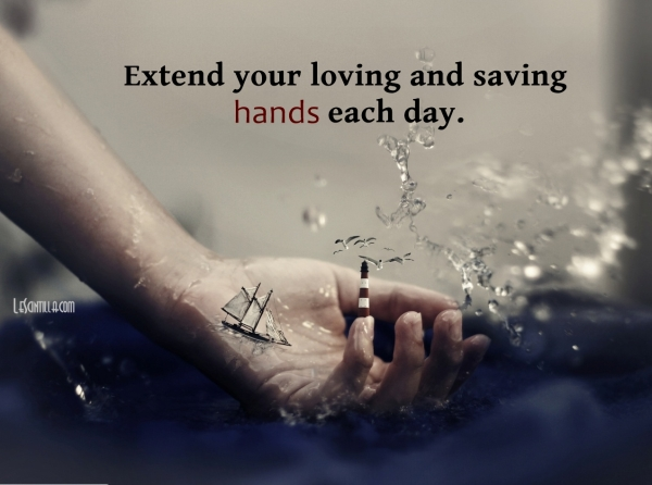 EXTEND LOVING HAND lescintilla